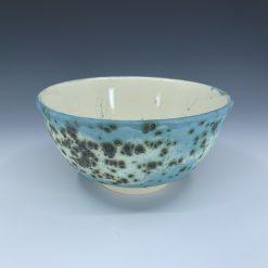 Bowl - Blue green patina