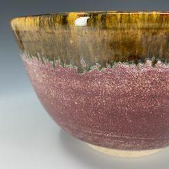 Bowl- Burgundy matte