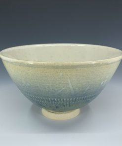 Bowl - Cream and Blue