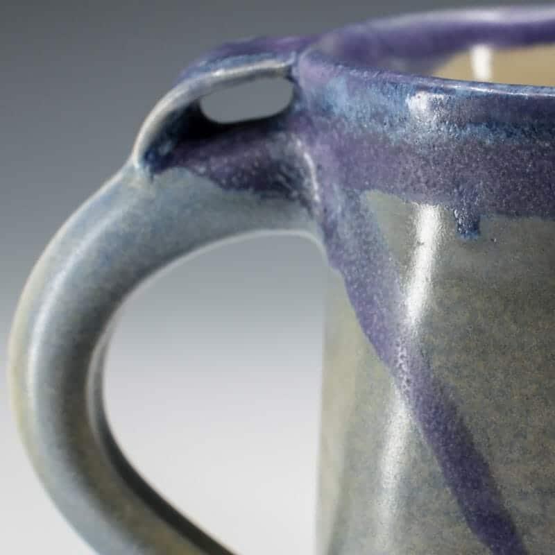 Mug - Square Blue