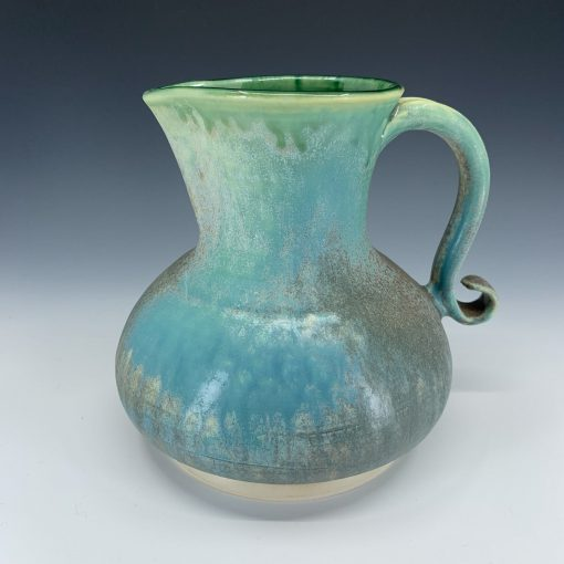 Elegant and timeless pitcher with great form and function.