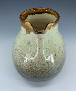 Pitcher - Crackled Stoneware