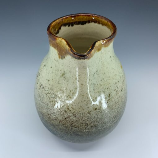 Pitcher - Crackled Stoneware