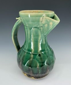Pitcher - Green candy over black matte
